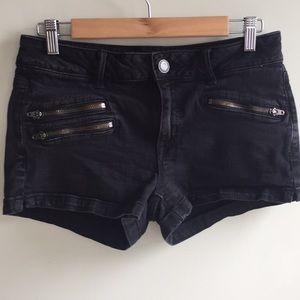 Super stretch black shorts size 10
